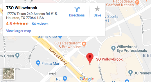 TSO Willowbrook Map